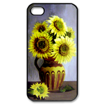 Sunflowers Custom Case for iPhone 4,4S