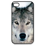 Wild Wolf Custom iPhone4,4s Case Custom Case for iPhone 4,4S