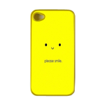 Please Smile Custom iPhone4,4s Case Custom Cases for Iphone 4,4s