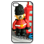 Teddy British Royal Guard Puppet iPhone4,4s Case Custom Case for iPhone 4,4S