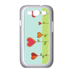 Heart-shaped Flowers Samsung Galaxy S3 I9300 Case Case for Samsung Galaxy S3 I9300