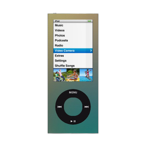 how to turn on ipod nano 5th generation