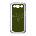 Formula Heart Samsung Galaxy S3 I9300 Case Case for Samsung Galaxy S3 I9300