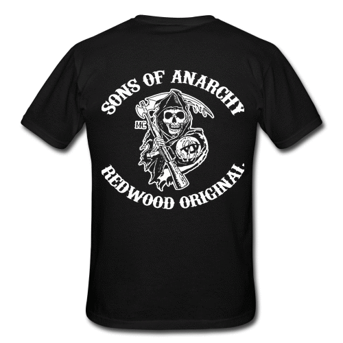 Son Of Anarchy Men 39 S Custom Gildan T Shirt