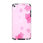 Pink Flowers IPod Touch 4 Skin Skins for iPod Touch 4