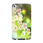 Small White Flowers IPod Touch 4 Skin Skins for iPod Touch 4