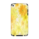 Yellow Flowers IPod Touch 4 Skin Skins for iPod Touch 4