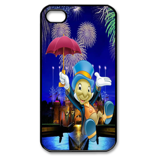 Jiminy Cricket Custom iPhone 4, 4s Case Custom Case for iPhone 4,4S
