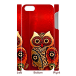 3d kawaii owl 3D iPhone 5 Case