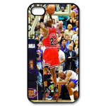 Michael Jordan Dunk iphone 4 case Custom Case for iPhone 4,4S  