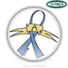 blue ribbon awarenss 1.25'' Round Badges