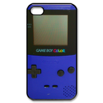 Deep & Elegant Blue Gameboy Custom Case for iPhone 4,4S