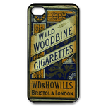 Vintage Old Cigarettes Iphone Cases Custom Case for iPhone 4,4S