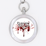 claytanic tattoos logo Custom Key Chain Watch (Round )