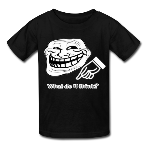 T Shirt Design Troll Custom Men 39 S Gildan T Shirt Usa Size