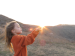 Girl Holding Sun