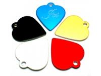 Dog Tag (Heart-shaped)