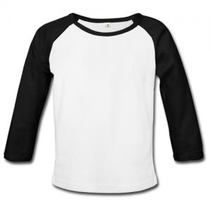 Black Sleeves White Shirt | Is Shirt