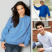 Gildan Crewneck Sweatshirt(NEW) Model H01
