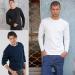 Custom Gildan Mens Long sleeve T-shirt Model T08
