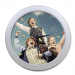 Boys Celebrating Elegant Wall Clock