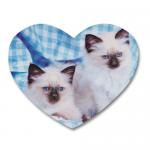 Custom Heart Coasters
