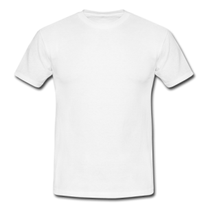 Men's classic white t-shirt