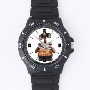 Custom Black plastic high quality watch