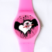 Custom ladies plastic watch
