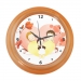 Happy Family Blue Elegant Wall Clock