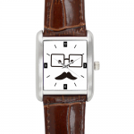 Square Leather Alloy High-grade  Watch Model206