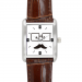 Square Leather Alloy High-grade  Watch