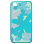 Custom Cases for Iphone 4,4s (Blue)