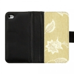 Custom Diary Leather Cover Case for IPhone 4,4S