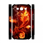 Custom Dual-Protective Case for Samsung Galaxy S3 I9300 3D