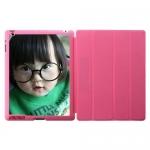 Custom Pink Smart Cases for iPad 2, iPad 3,IPad 4