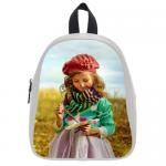 Custom School Bag Model 1601 (Medium)