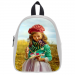 Custom School Bag Model 1601 (Medium)