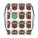 Custom Drawstring Bags Twin Sides Model 1604 (Medium)