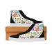 Custom Capricornus High Top Splicing Canvas Men's Shoes (Model 037)