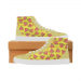 Custom Capricornus High Top Splicing Canvas Women's Shoes (Model 037) (Large Size)