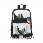 Custom Unisex Slim Backpack (Model 1664)