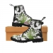 Custom Martens Men's Boots(Black)  (Model1203H)