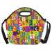 Custom Neoprene Lunch Bag/Large ( 1669)