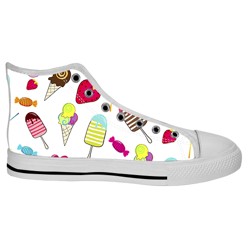 custom high top canvas shoes for model017 2015 new